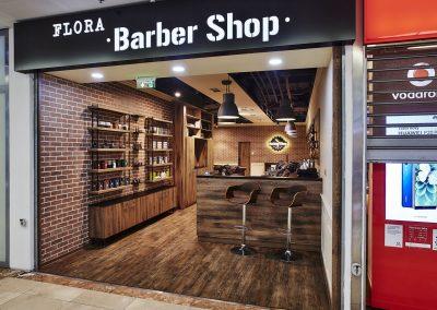 Barber Shop, OC Flora, Praha