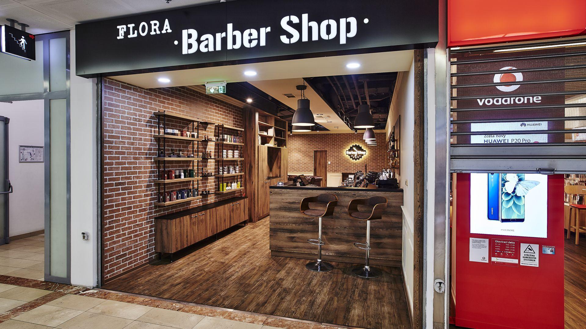FESCHU Barber Shop OC Flora, Praha b