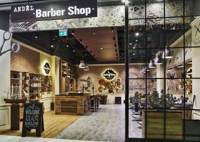 Barber Shop, OC Nový Smíchov, Praha