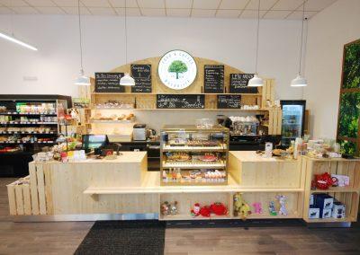 Macrolife Food & Coffee, bioprodejna, Louny