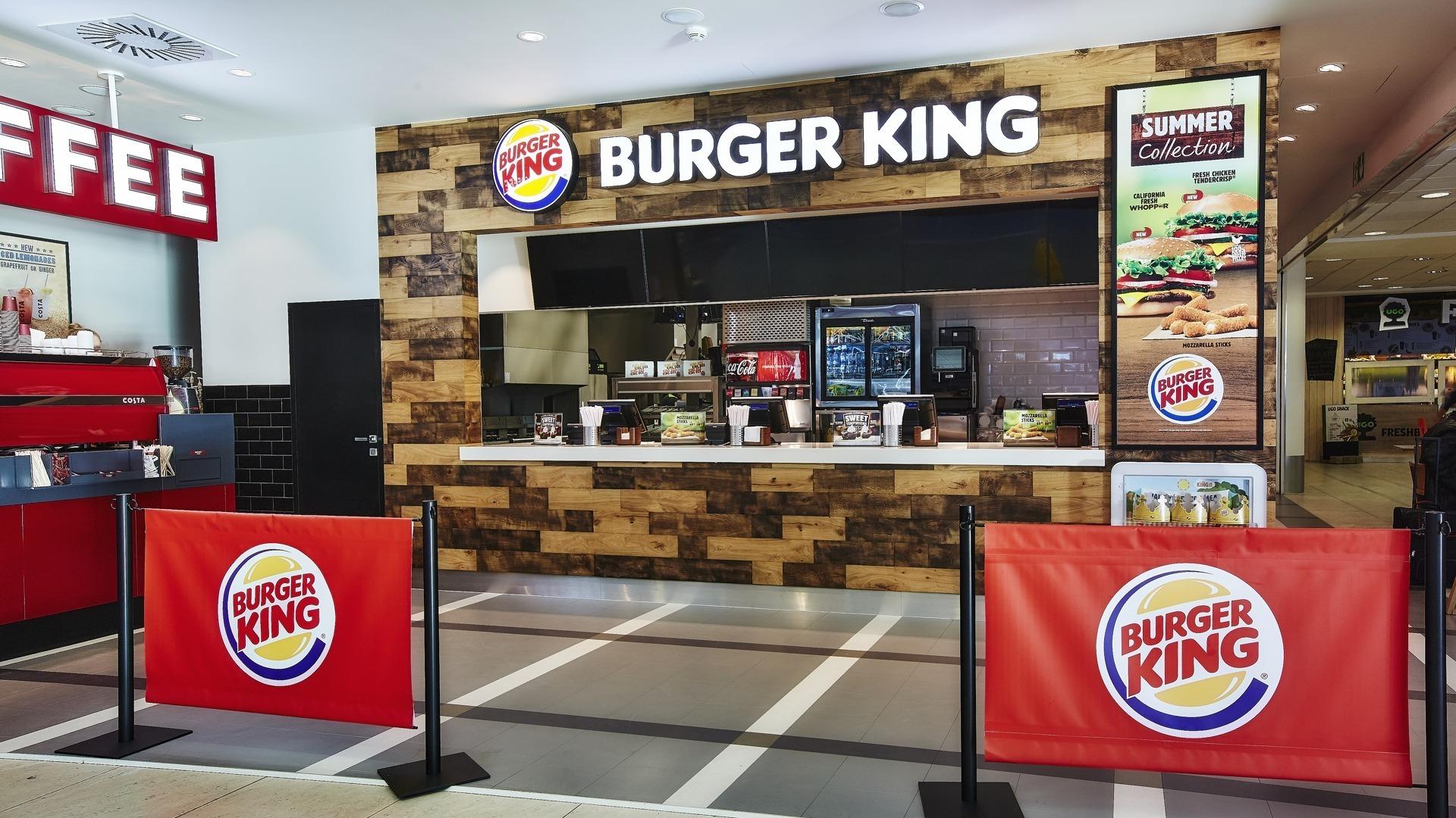 FESCHU Burger King Letiste Praha celkovy pohled