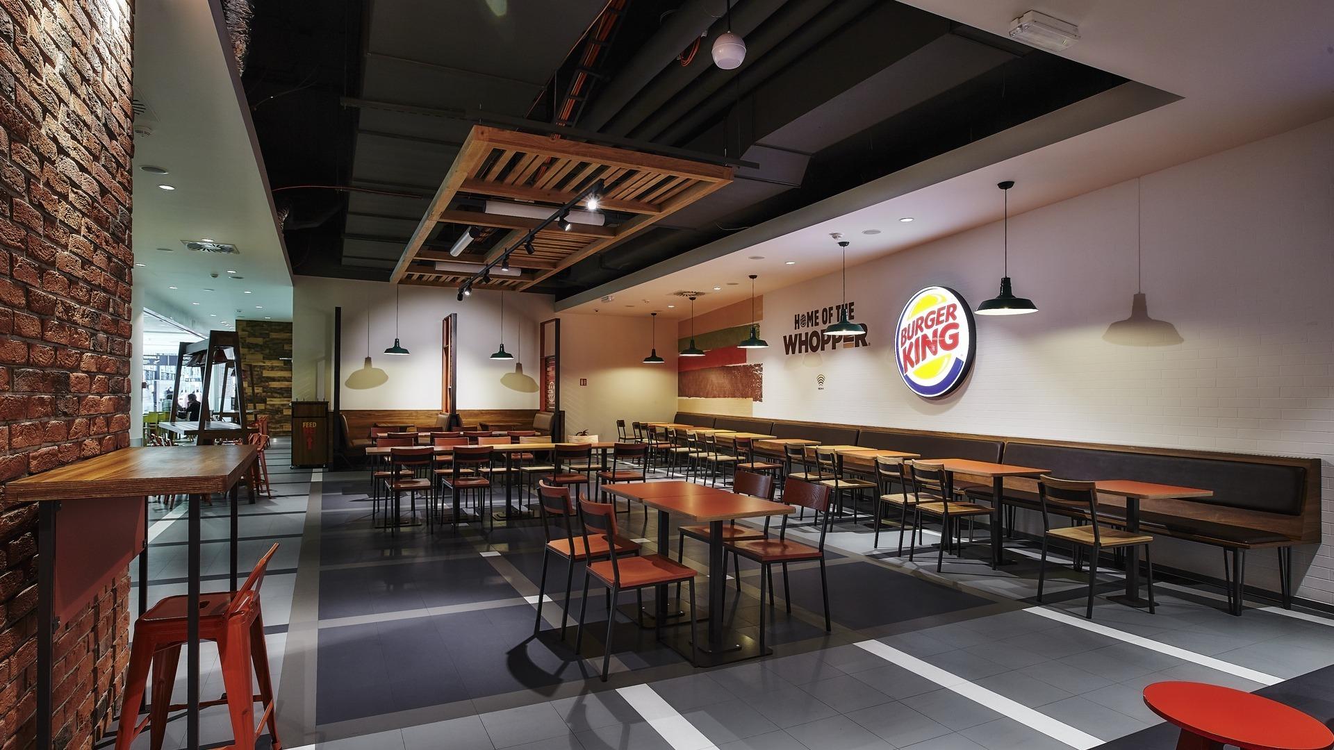 FESCHU Burger King Letiste Praha sezeni