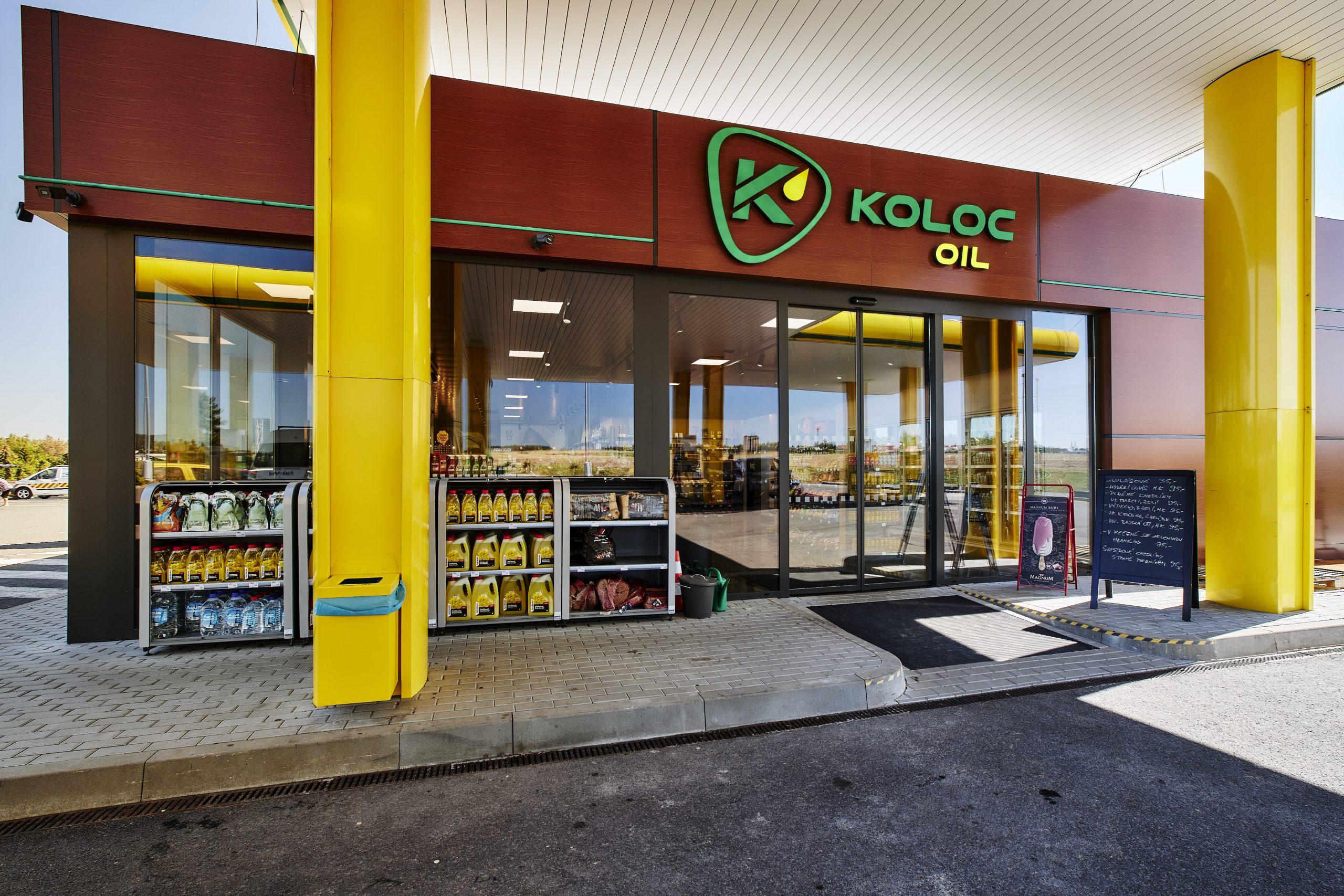 FESCHU Čerpací stanice KOLOC Oil Líšnice prodejna vstup