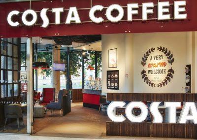 Costa Coffee, OC Aupark, Hradec Králové