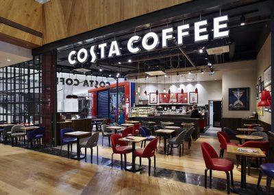 Costa Coffee, OC Westfield, Praha – Chodov