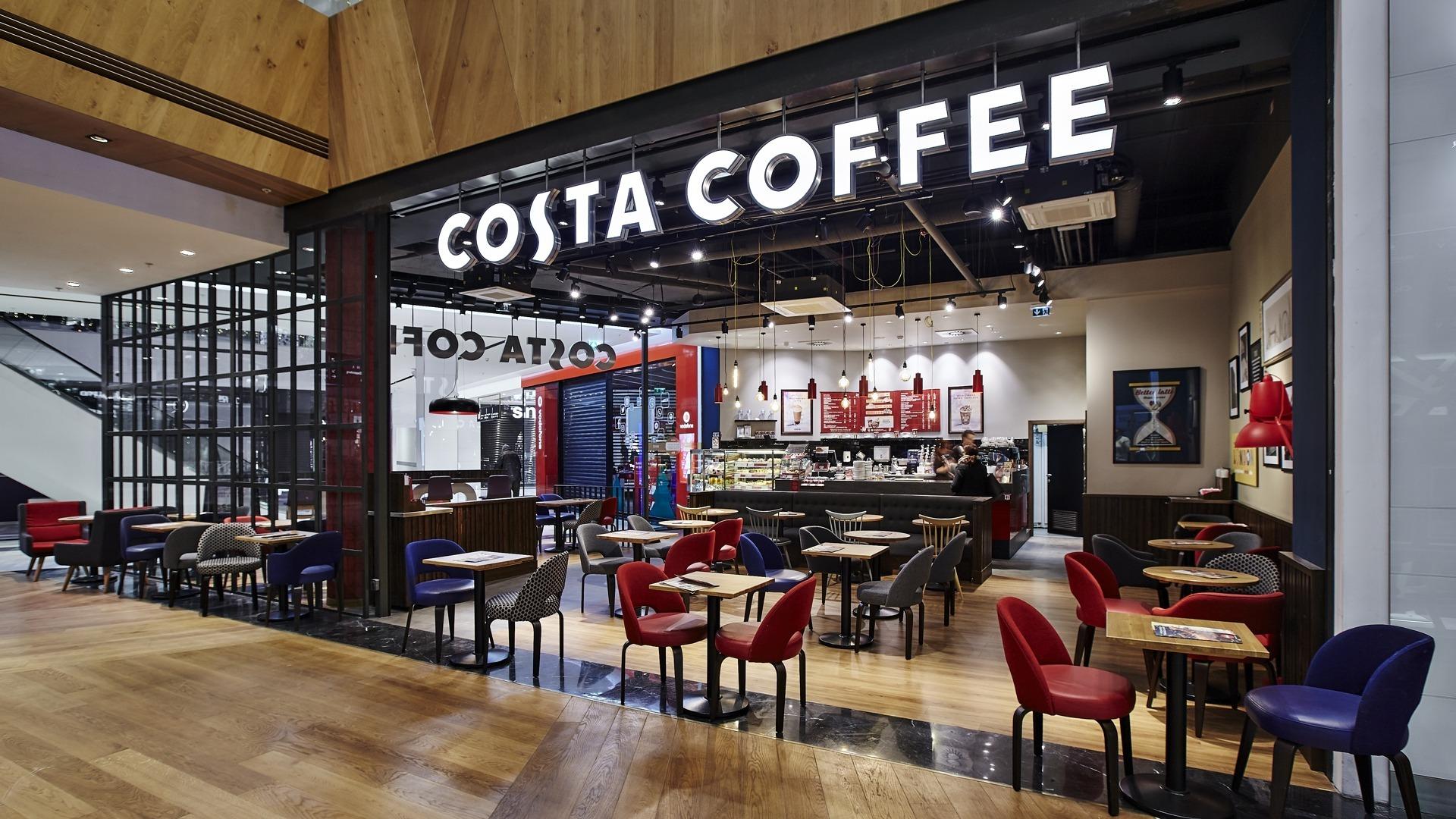 FESCHU Costa Coffee OC Westfield, Praha Chodov logo