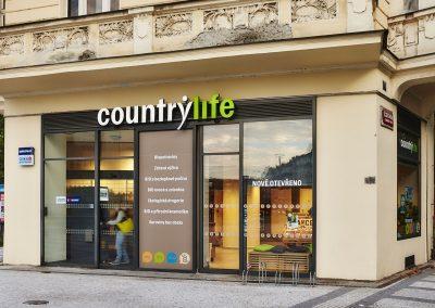 Country Life, biopotraviny azdravá výživa, Praha – Letná