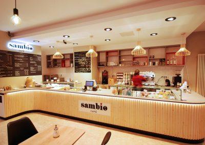 Sambio, kavárna, Berlín