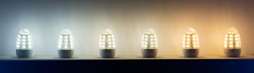 Barva světla - žárovky