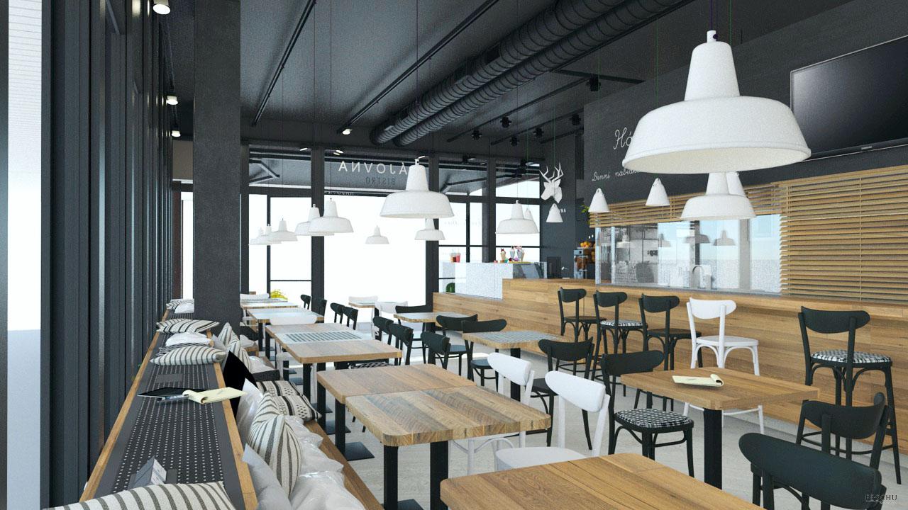 FESCHU restaurace kavarna Hajovna posezení