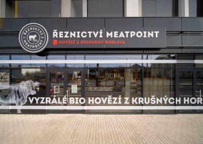Farmářské řeznictví MeatPoint, Harfa, Praha – Libeň