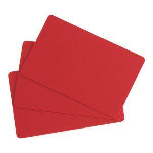 FESCHU plastové karty na cenovky EDIKIO - červená