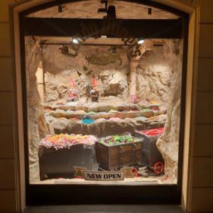 Candy Miners, Praha - osvětlení Imoon, pohled z venku