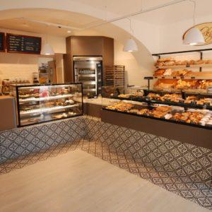 pohled na obsluhovaný úsek pekařství Vrbský Unhošť