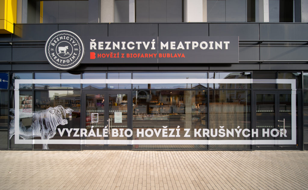 FESCHU_BioFarma Bublava MeatPoint Praha Harfa Vstup