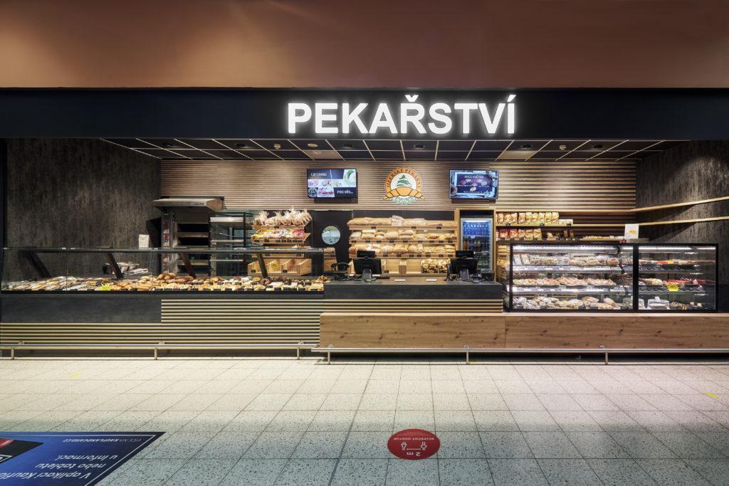 FESCHU Jizerske pekarny OC Kaufland Melnik celkovy pohled