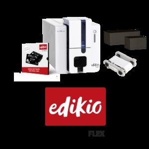 Tiskárna cenovek Edikio Flex nabízí flexibilní řešení - potisk klasických i dlouhých karet
