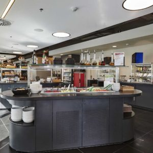 Salátový bar Timeout Cafe Restaurant