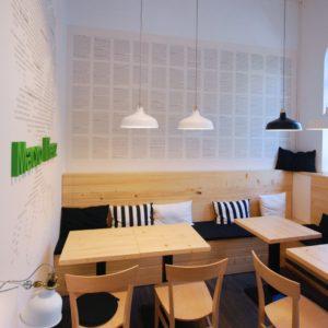 kavárna v bioprodejně Macrolife Louny