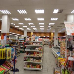 pohled na prodejnu v původním stave, ZKD Sušice