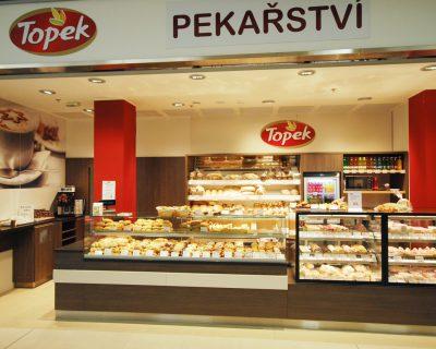 Vitrína na pečivo v Topek Přerov